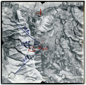 Aerial photographs covering an area from Avon, the Wasatch- Cache National Forest to the Cache...