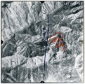Aerial photographs covering an area over Smithfield Canyon, leading, the Wasatch-Cache National...