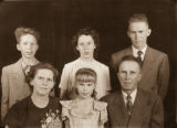 Albert and Irma Beck family
