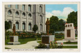 Postcard of The Monuments on Temple Block