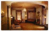 Postcard of Drawing Room of Old Governor's Mansion