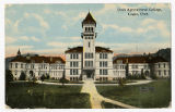 Postcard of Utah Agricultural College Logan Utah