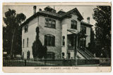 Postcard of New Jersey Academy, Logan Utah