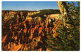 Postcard of Cedar Breaks National Monument