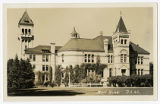 Real Picture Postcard Main Bldg. U.S.A.C