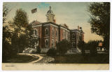 Postcard of Court House, Logan Utah