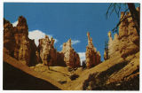 Postcard of Erosional Forms, Bryce Canyon National Park