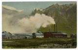 Postcard of Cement Plant, Brigham City