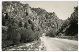 Real Picture Postcard of Rugged Beauty of Logan Canyon
