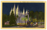 Postcard of Salt Lake Temple