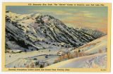 Postcard of Collins Gulch in Alta, UT