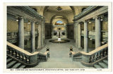 Postcard of Corridor and Main Stairways, Utah State Capitol