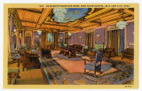 Postcard of Governor's Reception Room, Utah State Capitol, Salt Lake City, UT