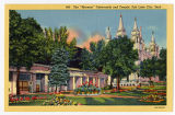Postcard of Tabernacle at Temple Square