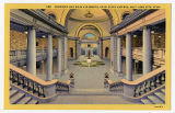 Postcard of Corridor and Main Stairways, Utah State Capitol, Salt Lake City, UT