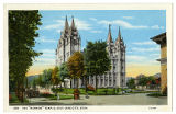 "Postcard of The ""Mormon"" Temple"