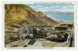 Postcard of Garfield Smelters on the Shores of the Great Salt Lake