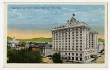 Postcard of Hotel Utah and State Capitol