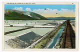 Postcard of Harvesting Salt near Salt Lake City Utah