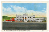Postcard of Salt Lake City Municipal Air Port