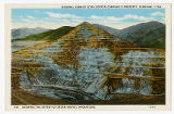 Postcard of General View of Utah Copper Company's property, Bingham Utah