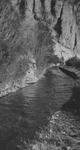 Canal in Logan Canyon, Utah, between 1915 and 1925