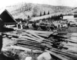 Klondike Mill on Beaver Creek up Logan Canyon, Utah, ca. 1901