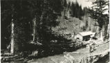 Sawmill in Blacksmith Fork Canyon, Utah, ca. 1930