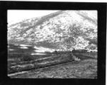 Maple Spring Trout Hatchery, Mantua, Utah, 1908, view of creek flowing to ponds