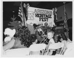Agins performing at the Arizona Heritage Fest